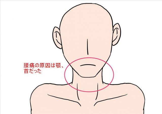 腰の痛みは首からくることが多い